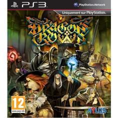 Jogo dragons crown playstation 3 atlus