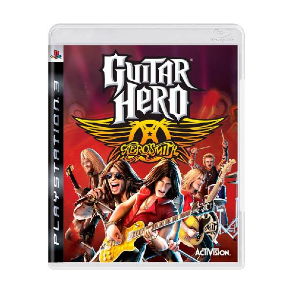 Jogo guitar hero: aerosmith - ps3