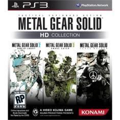 Jogo metal gear solid hd collection playstation 3 konami