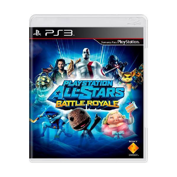 Jogo playstation all-stars battle royale - ps3 (servidores