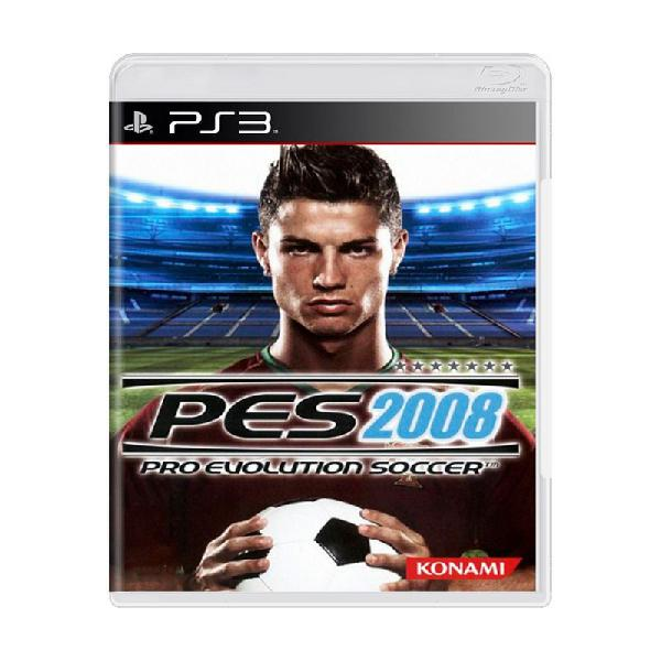 Jogo pro evolution soccer 2008 (pes 08) - ps3
