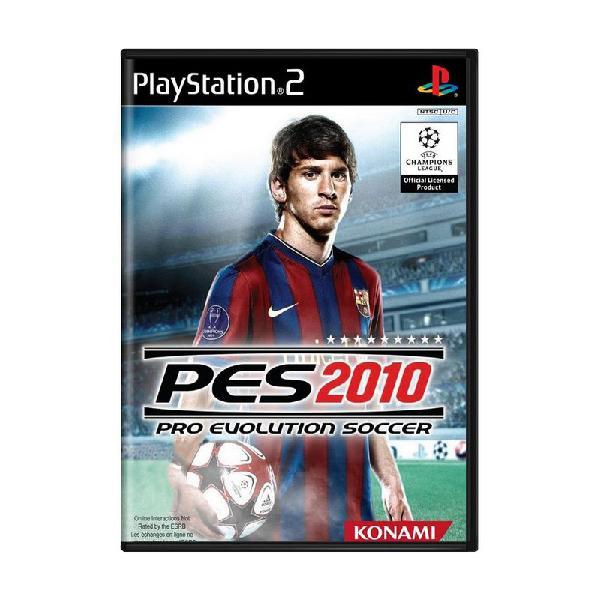 Jogo pro evolution soccer 2010 (pes 10) - ps2