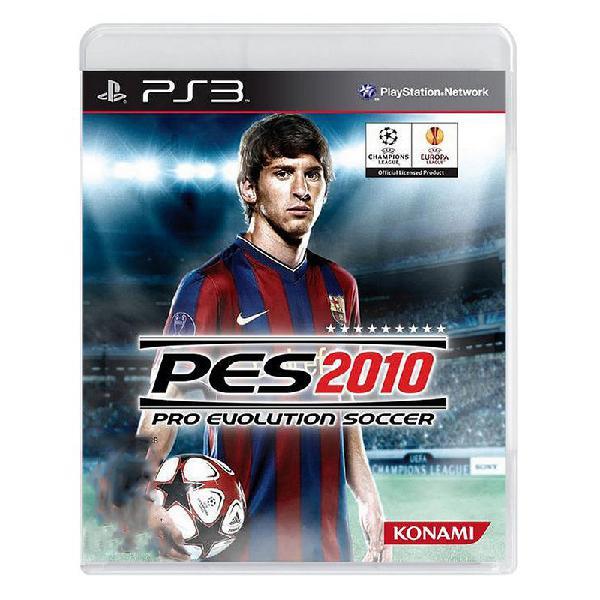 Jogo pro evolution soccer 2010 (pes 10) - ps3