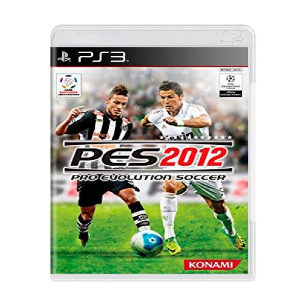 Jogo pro evolution soccer 2012 (pes 12) - ps3