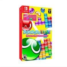 Jogo puyo puyo tetris sega nintendo switch