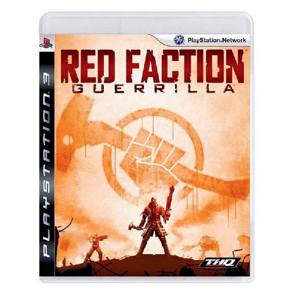 Jogo red faction: guerrilla - ps3