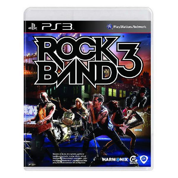 Jogo rock band 3 - ps3