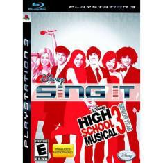 Jogo sing it! high school musical 3: senior year playstation