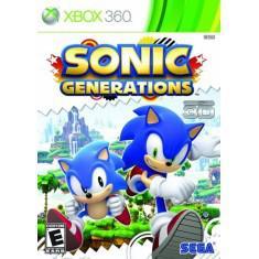 Jogo sonic generations xbox 360 sega