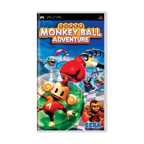 Jogo Super Monkey Ball Adventure - PSP