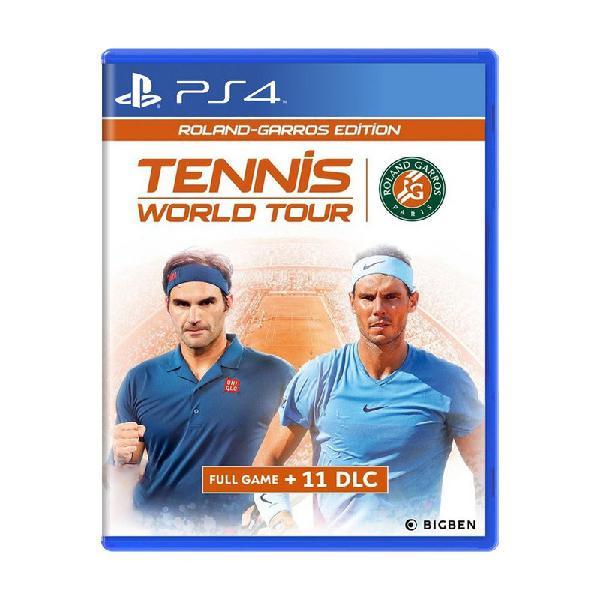 Jogo tennis world tour (roland-garros edition) - ps4