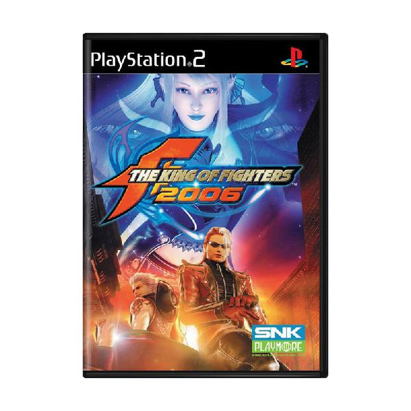 Jogo the king of fighters 2006 - ps2
