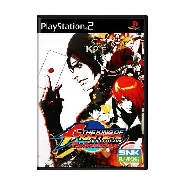 Jogo the king of fighters collection: the orochi saga - ps2
