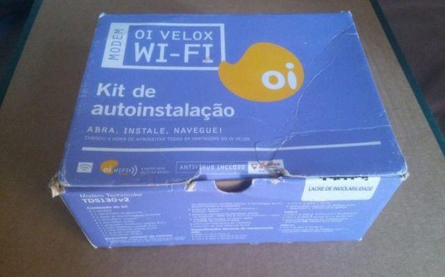 Kit para acesso a internet - modem e acessórios