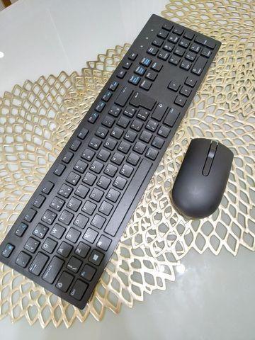 Kit teclado e mouse dell wk636p sem fio