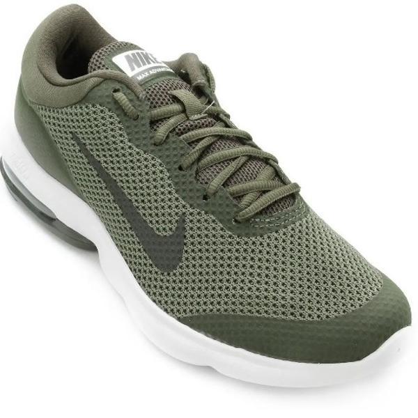 Nike air max advantage cor rara: verde tam 40