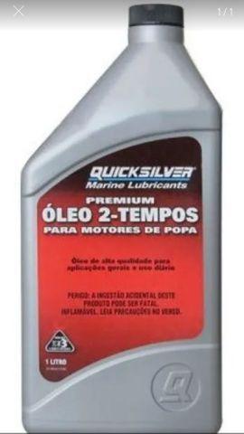 Oleo quicksilver tc-w3 motores popa 2 tempos