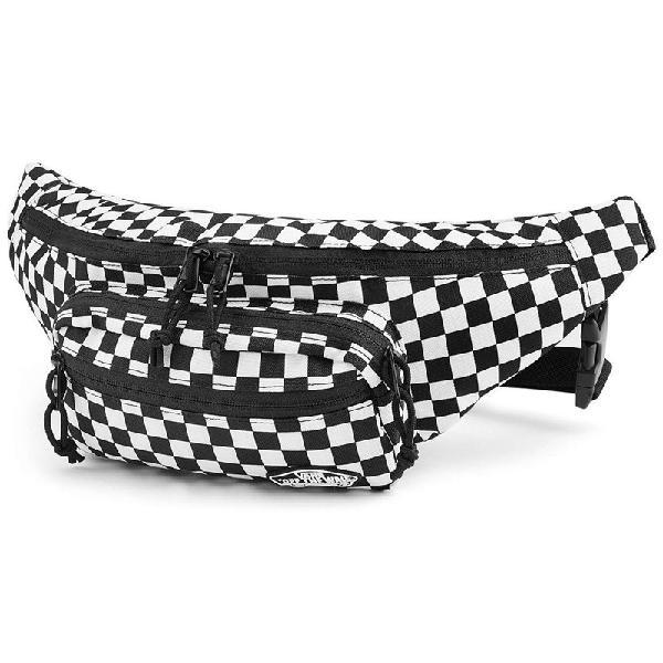 Pochete vans street ready checkerboard black white - surf