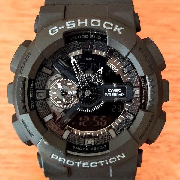 Relógio casio g-shock masculino padrão analógico digital