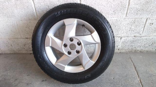 Roda pneu renault duster oroch original usada só uma