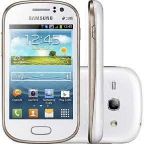 Smartphone samsung galaxy fame duos s6812 4gb cortex-a9 2