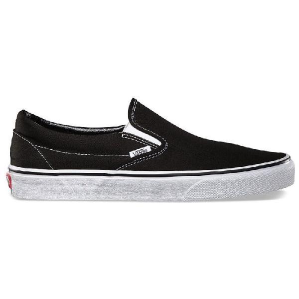 Tênis vans classic slip on black preto - surfalive