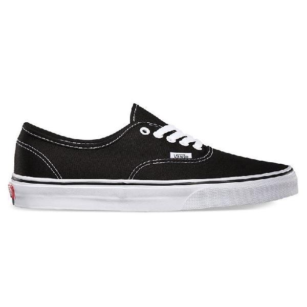 Tênis vans classic u authentic black preto - surfalive