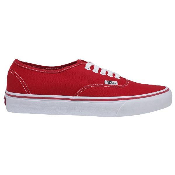 Tênis vans classic u authentic red vermelho - surfalive