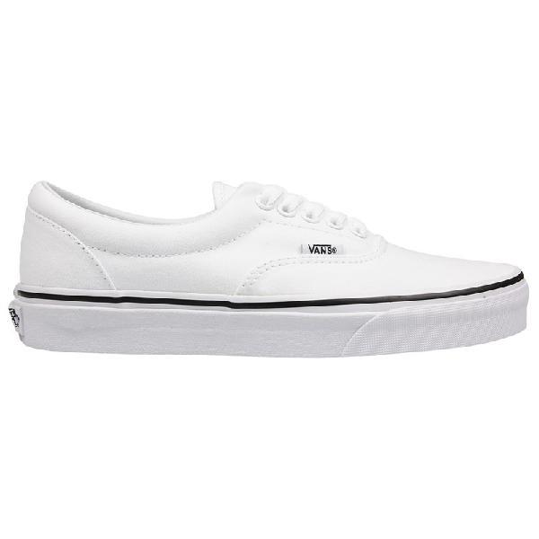 Tênis vans classic u era true white branco - surfalive