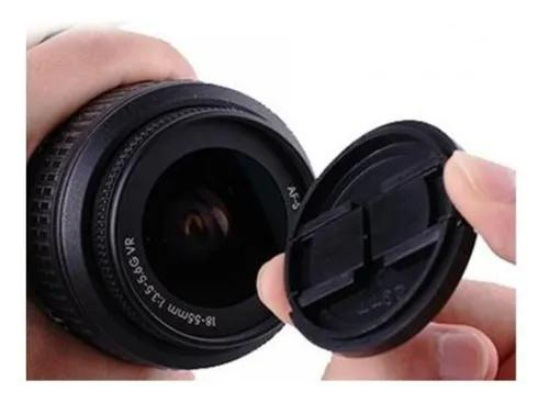 Tampa frontal de lente objetiva 77mm canon nikon sony outras
