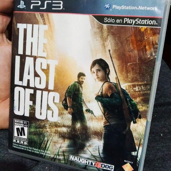 The last of us ps3 impecável