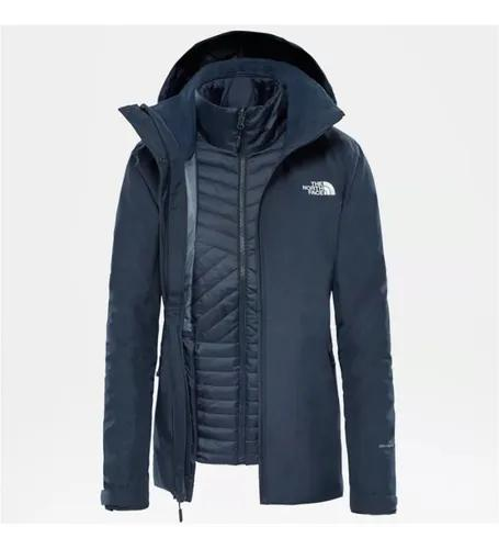 The north face inlux zip-in triclimate jaqueta f
