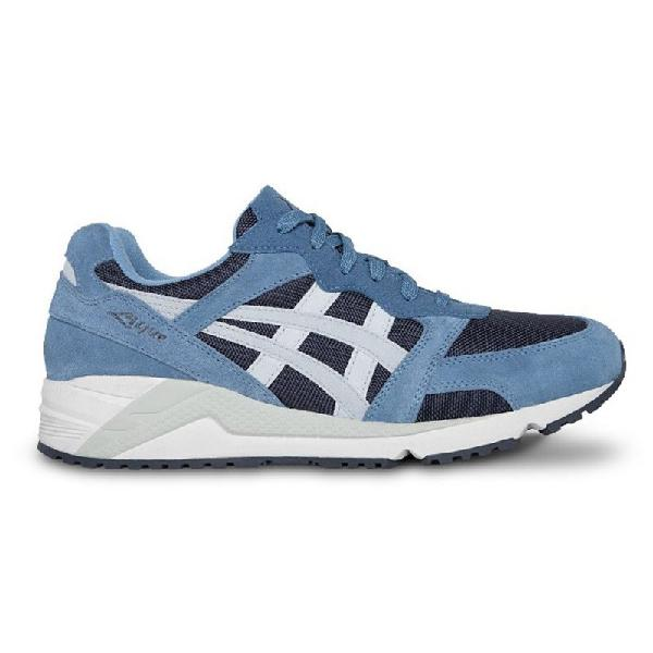 Tênis asics gel lique india ink glacier grey - surf alive