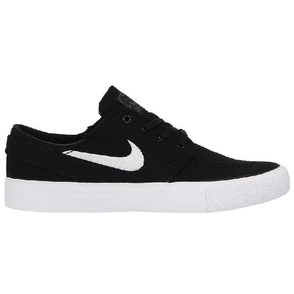 Tênis nike sb zoom janoski canvas rm black white thunder -