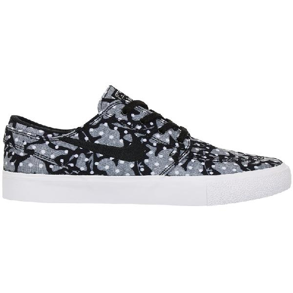Tênis nike sb zoom janoski canvas rm black white vast grey