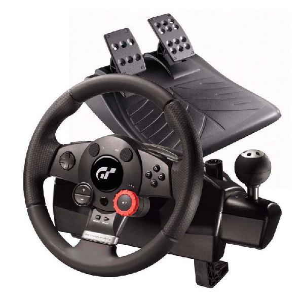 Volante logitech driving force gt - ps3 e pc