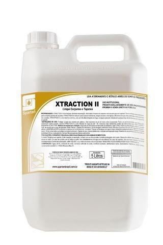 Xtraction ii - detergente para carpetes e estofados -