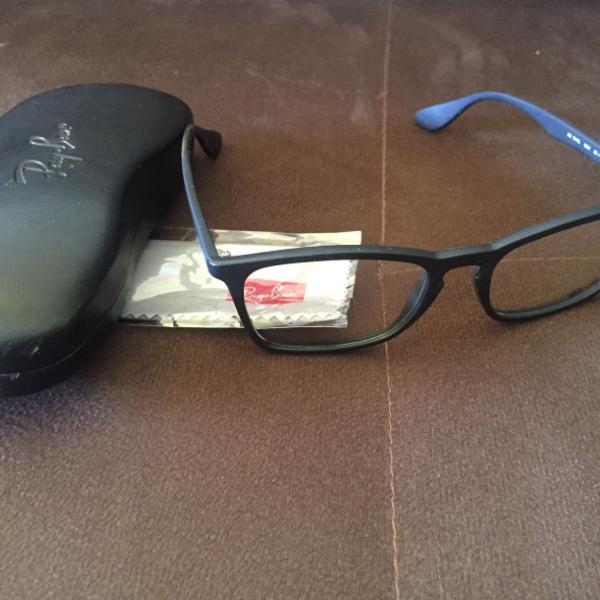 Armaçao de óculos ray ban