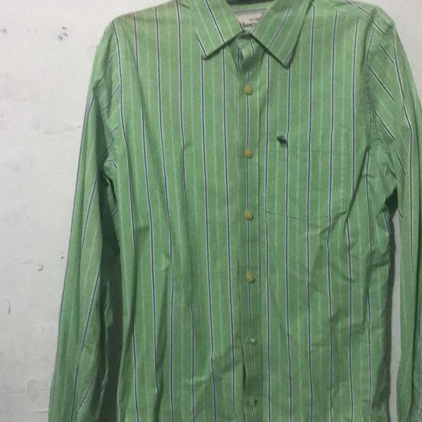 Camisa abercrombie & fitch masculina tamanho pequeno (s)