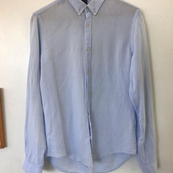 Camisa linho zara