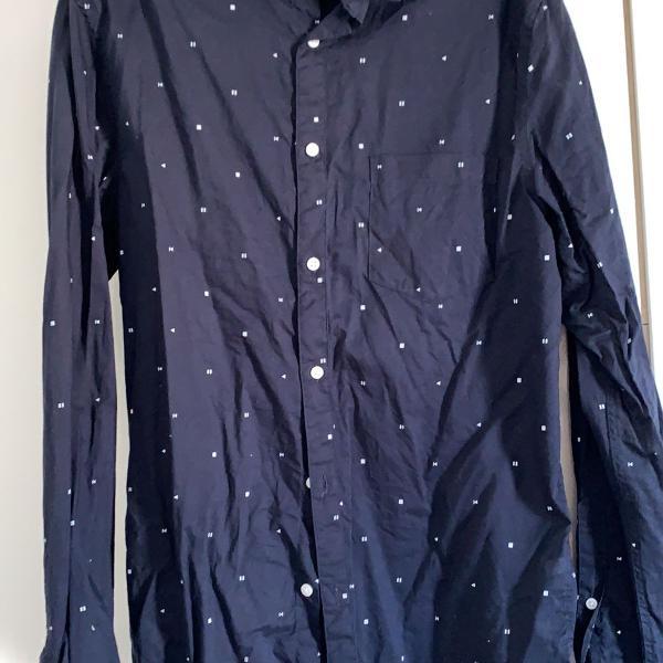 Camisa manga comprida h&m