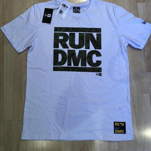 Camisa new era original rum dmc
