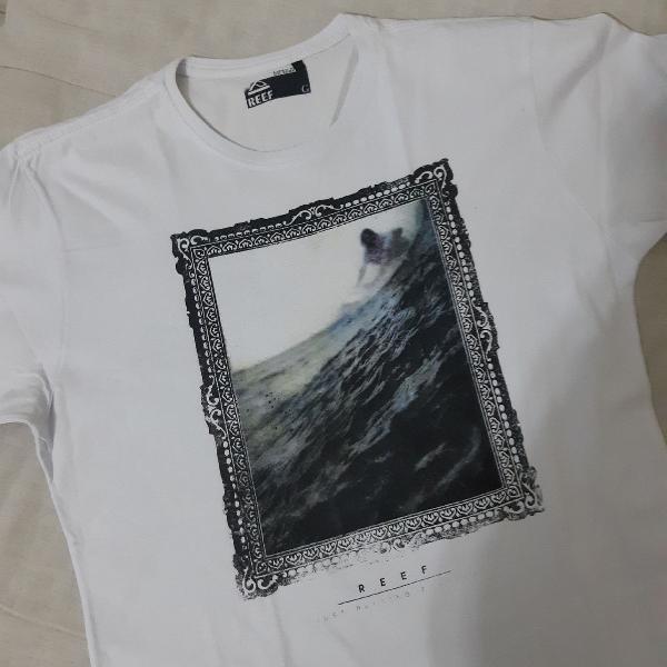 Camiseta branca reef surf