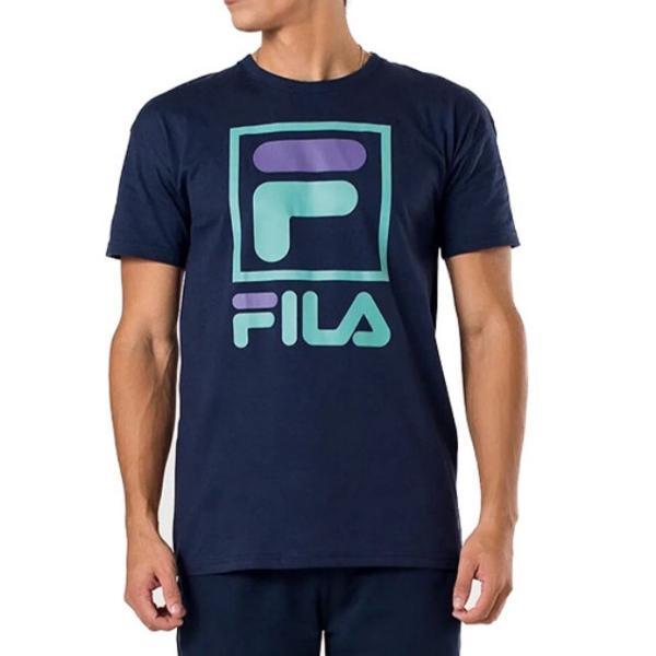 Camiseta fila stack azul marinho