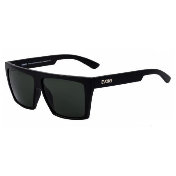 Culos de sol evoke evk 15 new black shine silver g15 total
