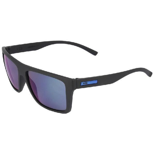Culos de sol hb floyd matte black blue chrome lenses -