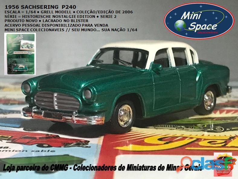 Grell modell 1956 sachsering p240 cor verde 1/64