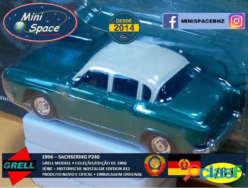 Grell Modell 1956 Sachsering P240 cor verde 1/64 1