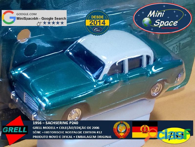 Grell Modell 1956 Sachsering P240 cor verde 1/64 2