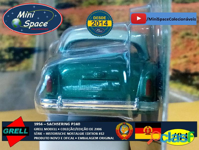 Grell Modell 1956 Sachsering P240 cor verde 1/64 4